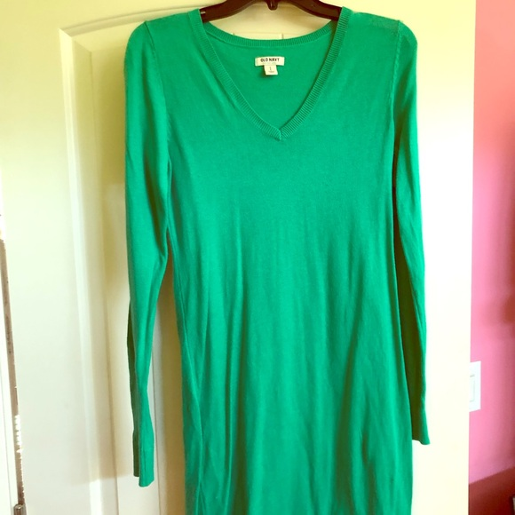 Old Navy Dresses & Skirts - Green sweater dress from Old Navy!